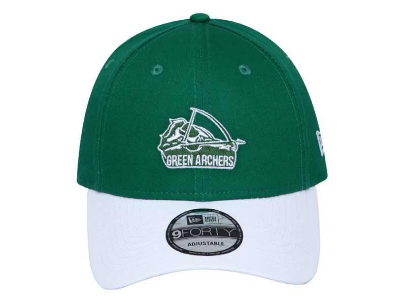 DLSU Green Archers UAAP Two Tone White Kelly Green 9FORTY Snap Cap