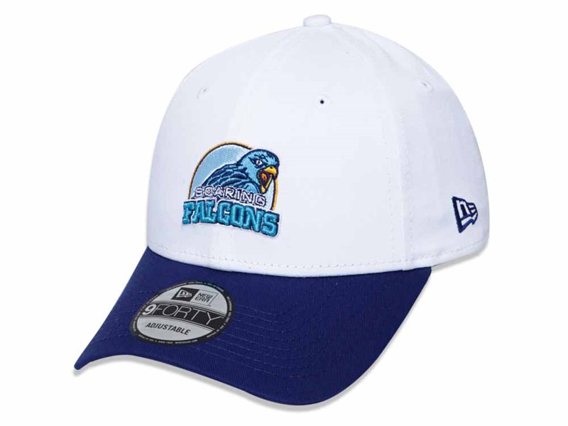 Adamson Soaring Falcons UAAP Two Tone Dark Royal White 9FORTY Snap Cap