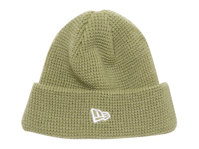 New Era Sprout Green Waffle Knit Beanie Cap