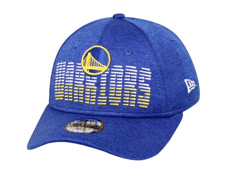 Golden State Warriors NBA Flash Blue 9FORTY Youth Kids Cap