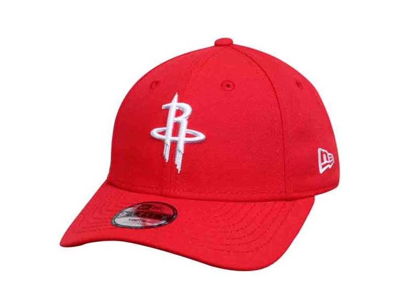 Houston Rockets NBA Red 9FORTY Youth Kids Cap