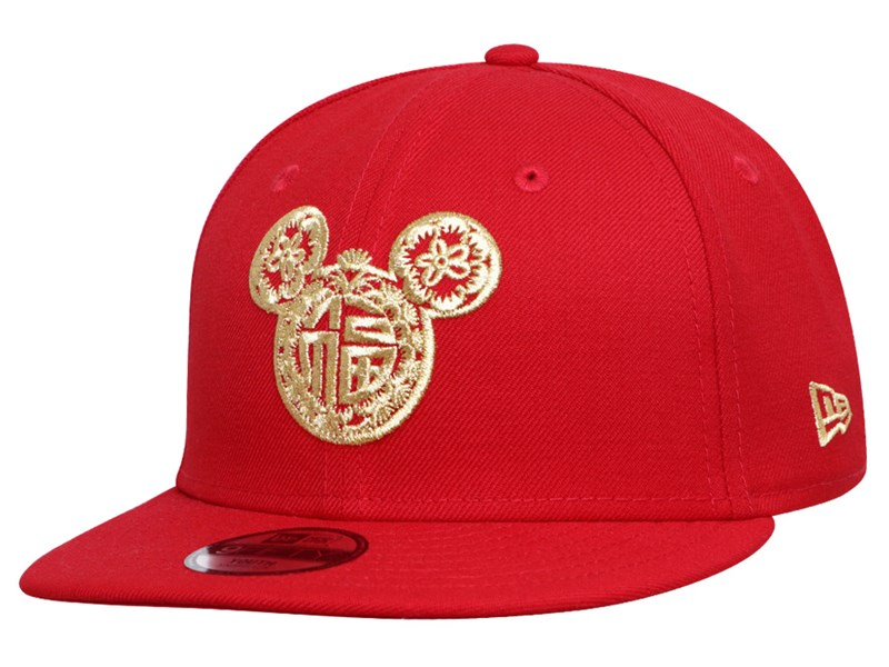 Mickey Mouse Disney Chinese New Year Scarlet 9FIFTY Youth Kids Cap