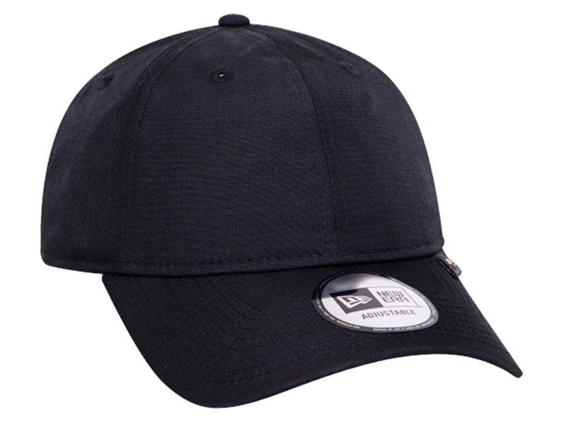 New Era Plain Cordura Waterproof Black 9THIRTY Cap