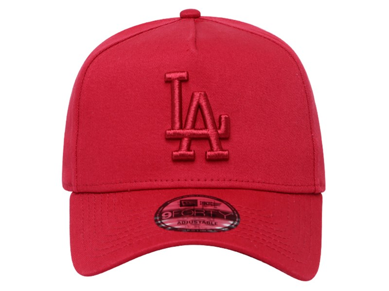 Los Angeles Dodgers MLB Red 9FORTY A-Frame Cap (Essential)