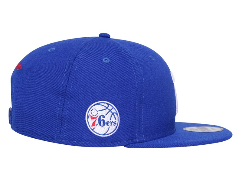 Philadelphia 76ers NBA Compound Blue 9FIFTY Cap