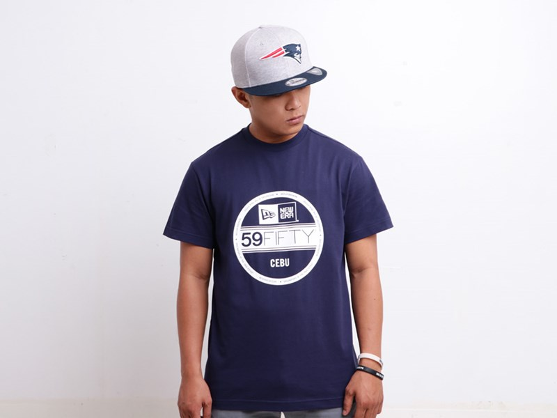 New Era Cebu Philippine Collection Brass City Visor Short Sleeves Navy Shirt
