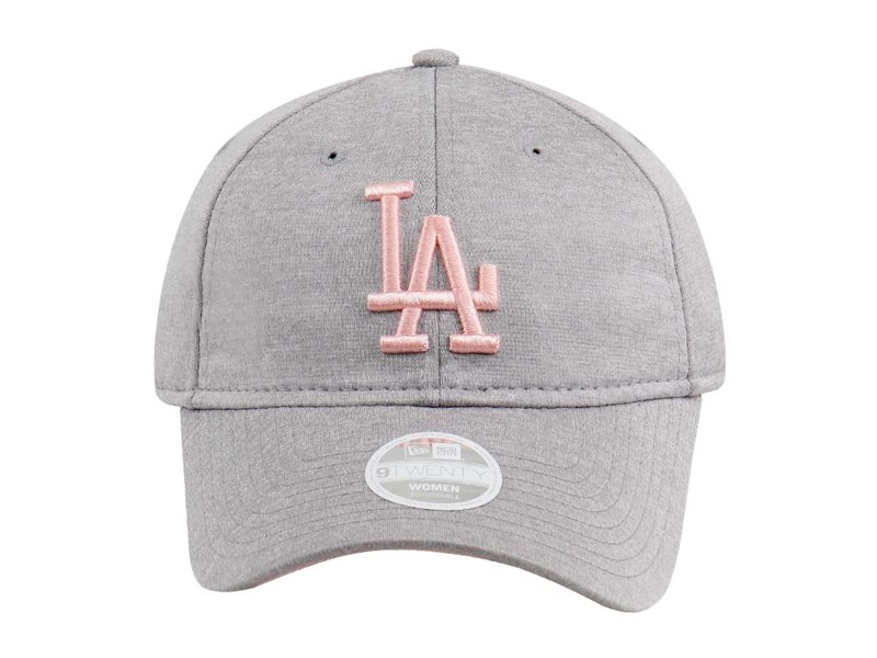 Los Angeles Dodgers MLB Sporty Sleek Gray 9TWENTY Womens Cap
