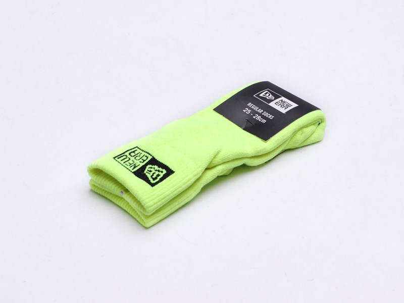 New Era Regular Neon Yellow Socks Accessory