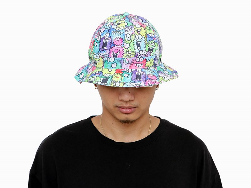 New Era Kevin Lyons Monster  Multicolor Explorer Bucket Cap (ONLINE EXCLUSIVE)