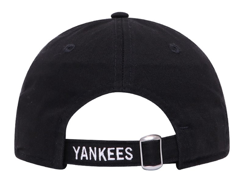 New York Yankees MLB Strap Logo Black 9TWENTY Youth Kids Cap