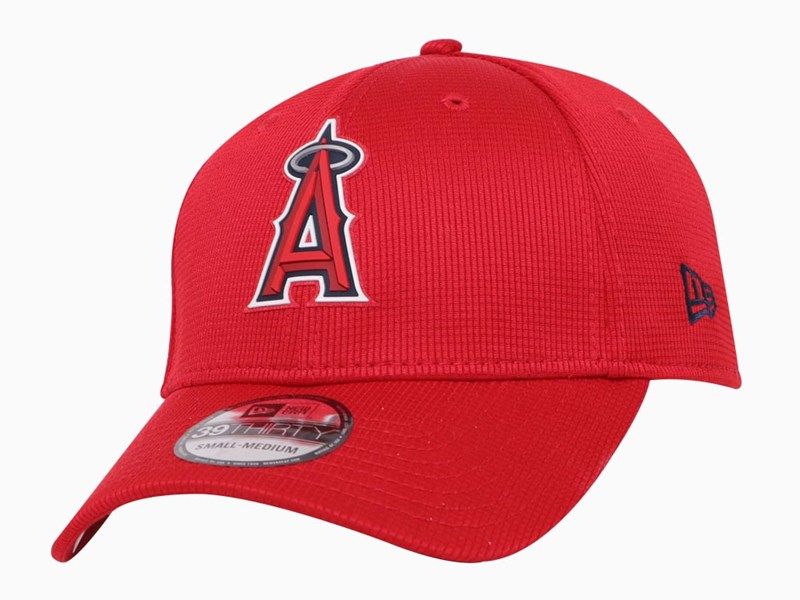 Anaheim Angels MLB 2020 Clubhouse Red 39THIRTY Cap