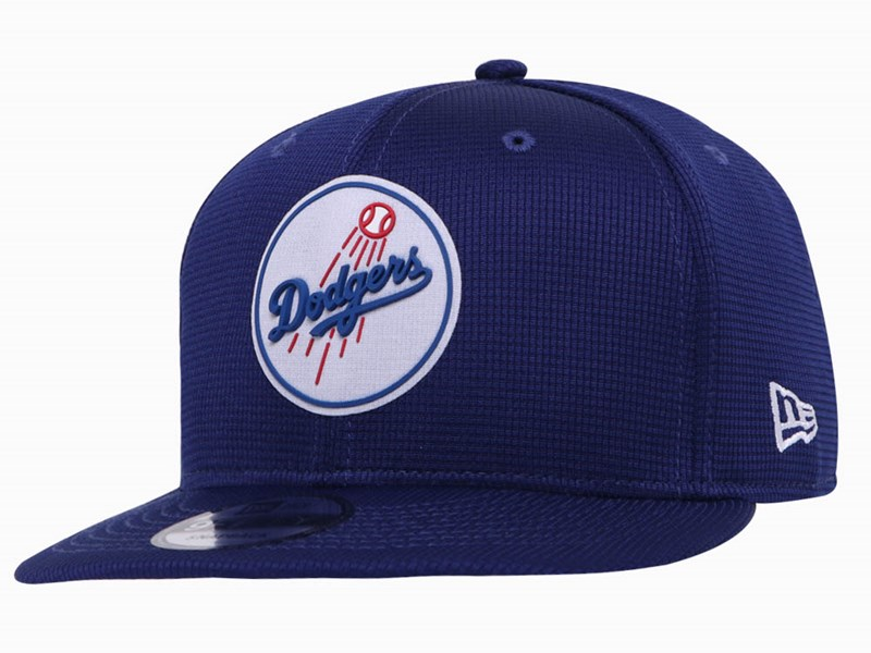 Los Angeles Dodgers MLB 2020 Clubhouse Dark Blue 9FIFTY Cap