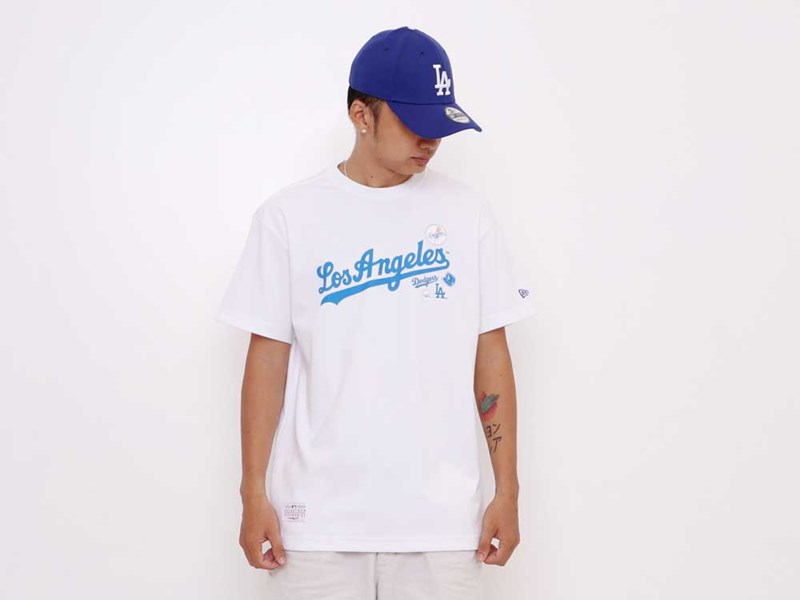 Los Angeles Dodgers MLB Badge White Short Sleeve Shirt