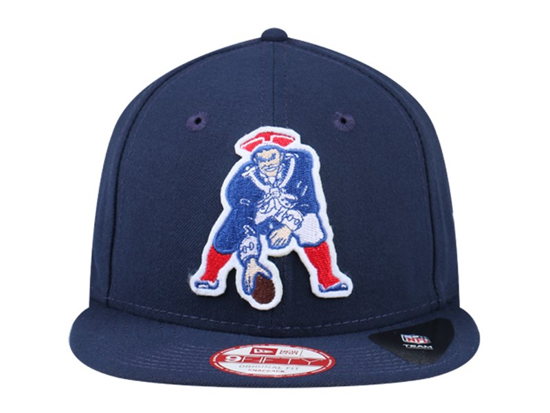 New England Patriots NFL Retro Logo 9FIFTY Cap