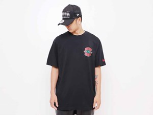 New Era MCMXX Centennial Black Short Sleeve Shirt