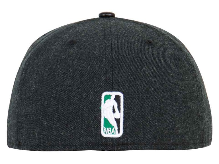 Boston Celtics NBA Pin Black 59FIFTY Cap