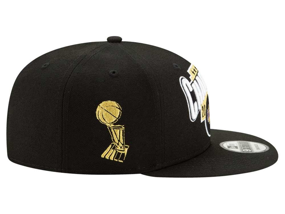Los Angeles Lakers NBA 2020 Champions Black 9FIFTY Cap ...