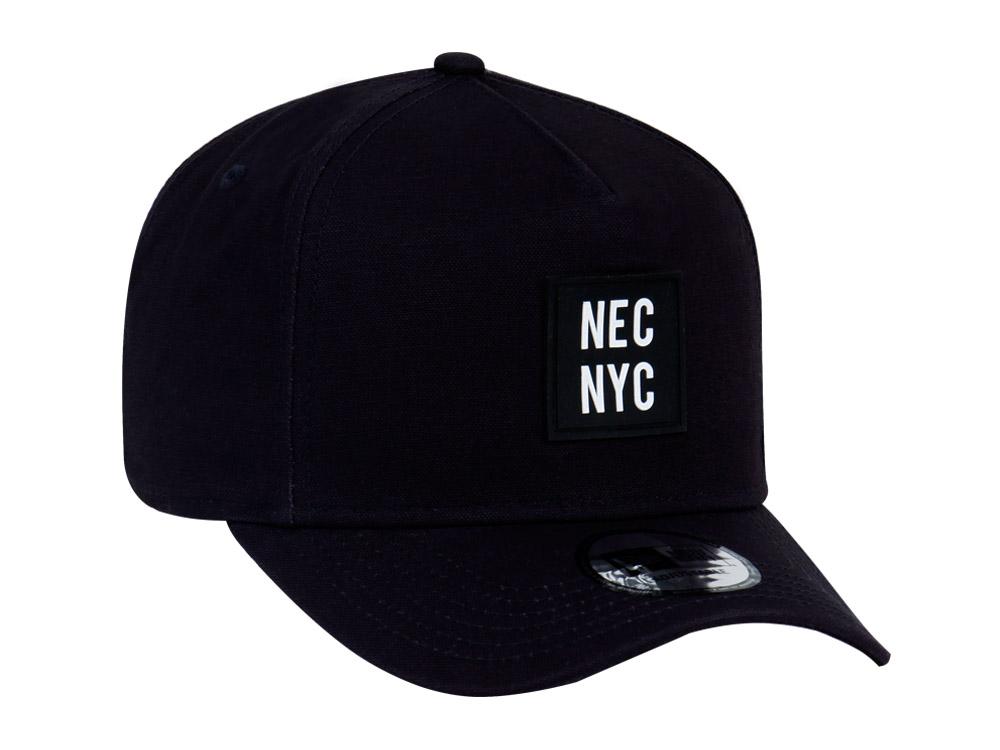 New Era D-Frame NEC NYC Rubber Duck Navy Canvas 9FORTY Cap  e5f98430f0e