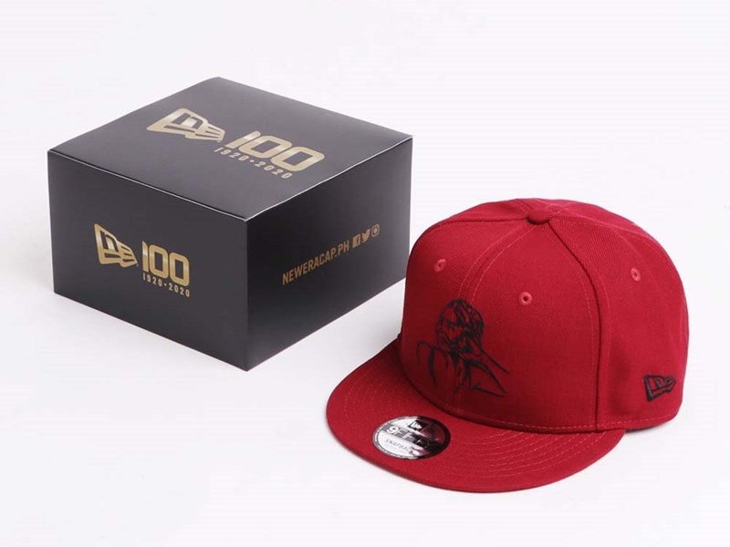 Whang Od Sketch Portrait Cardinal 9FIFTY Cap