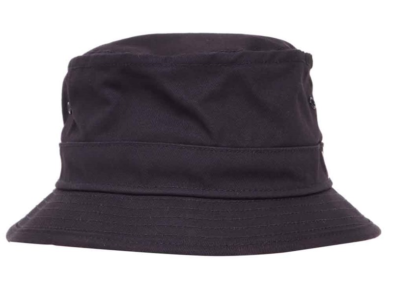 New Era Plains Navy Bucket  Cap (ESSENTIAL)
