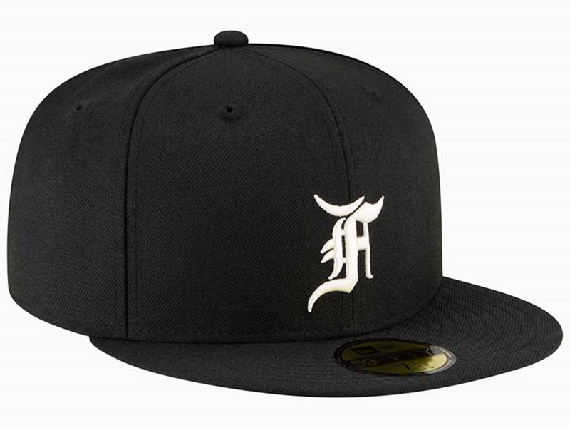 Fear of God ESSENTIALS Black 59FIFTY Fitted Cap
