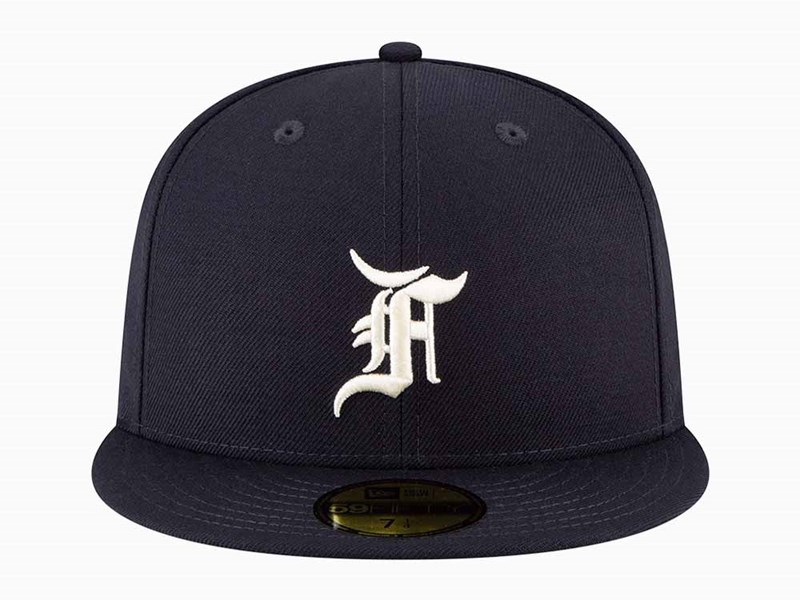 Fear of God ESSENTIALS Navy 59FIFTY Fitted Cap