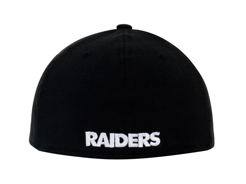 Oakland Raiders NFL Team Classic Black 39THIRTY Cap