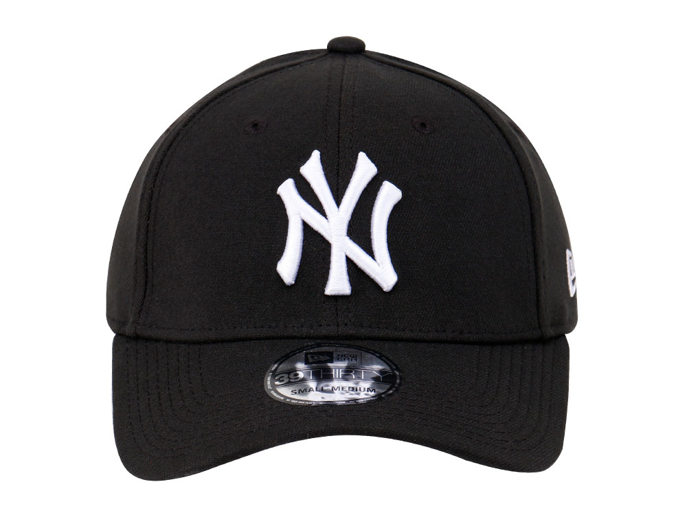 d9b5d35a864 New York Yankees MLB League Basic Black 39THIRTY Cap (ESSENTIAL ...