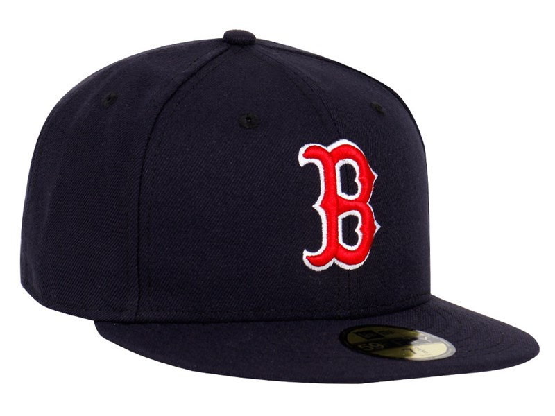 Boston Red Sox MLB AC Perf  Navy 59FIFTY Cap (ESSENTIAL)