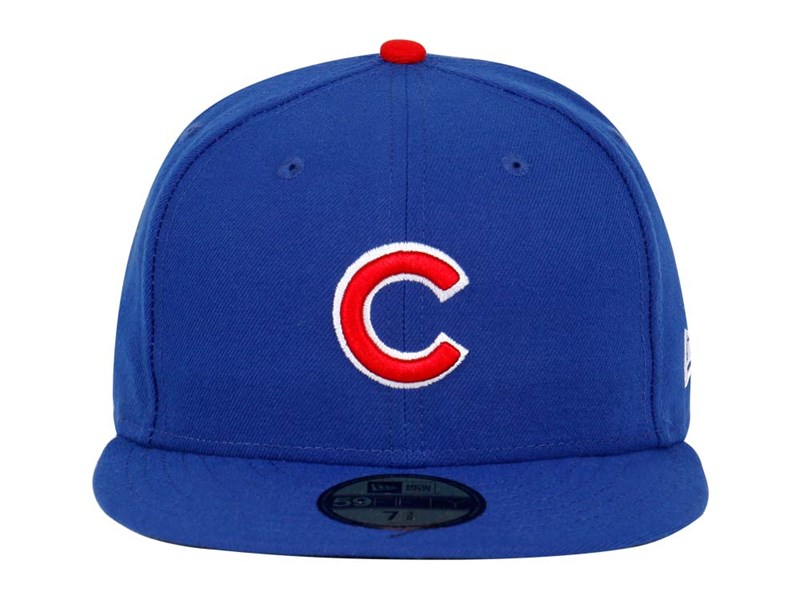 Chicago Cubs MLB ACPerf GM 2017 Blue 59FIFTY Cap