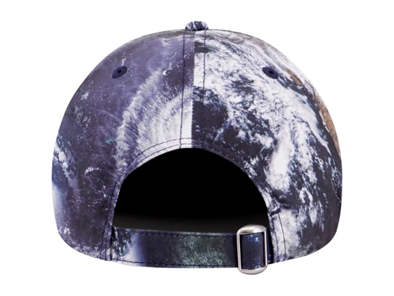 New Era Earth Satellite Black Multicolor 9FORTY Unstructured Cap