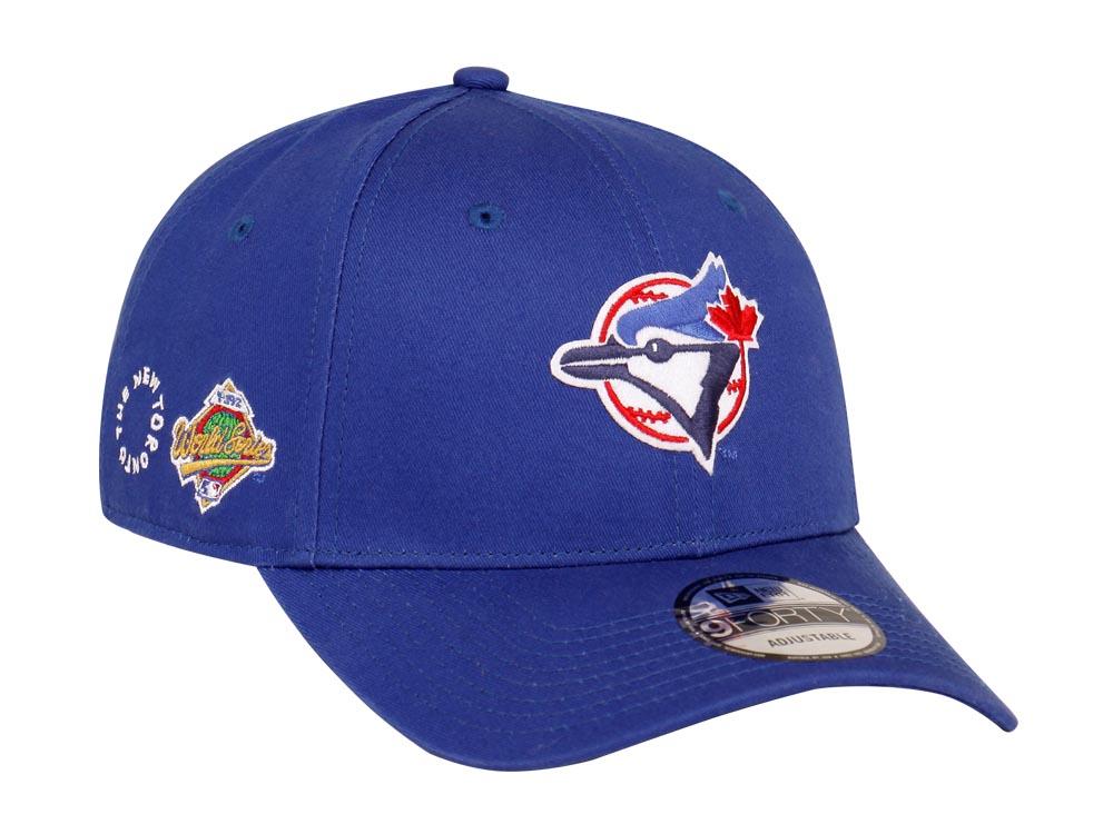 online retailer 89e69 e3446 ... wholesale toronto blue jays mlb tory lanez blue 9forty cap c8c51 71fd0