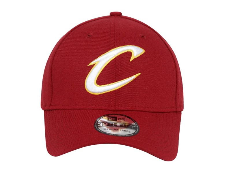 Cleveland Cavaliers NBA Team Classic Red 39THIRTY Cap