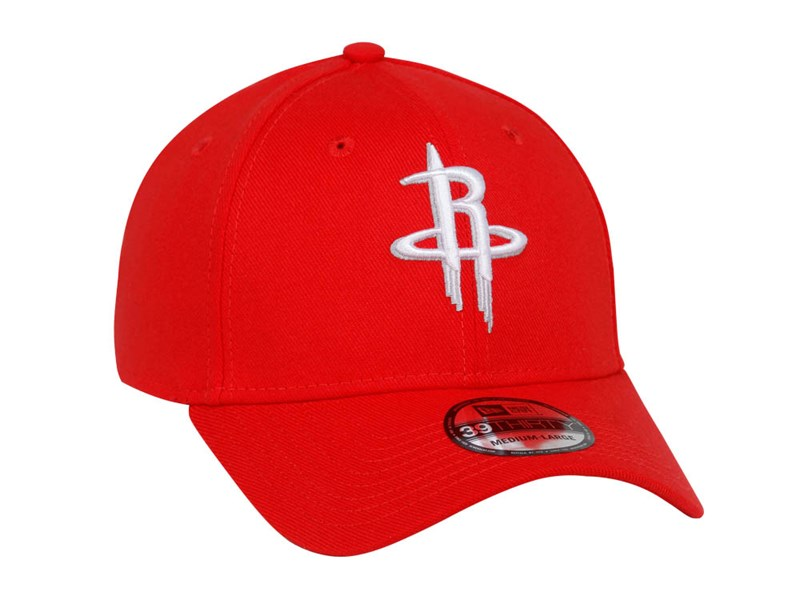 Houston Rockets NBA Team Classic Red 39THIRTY Cap