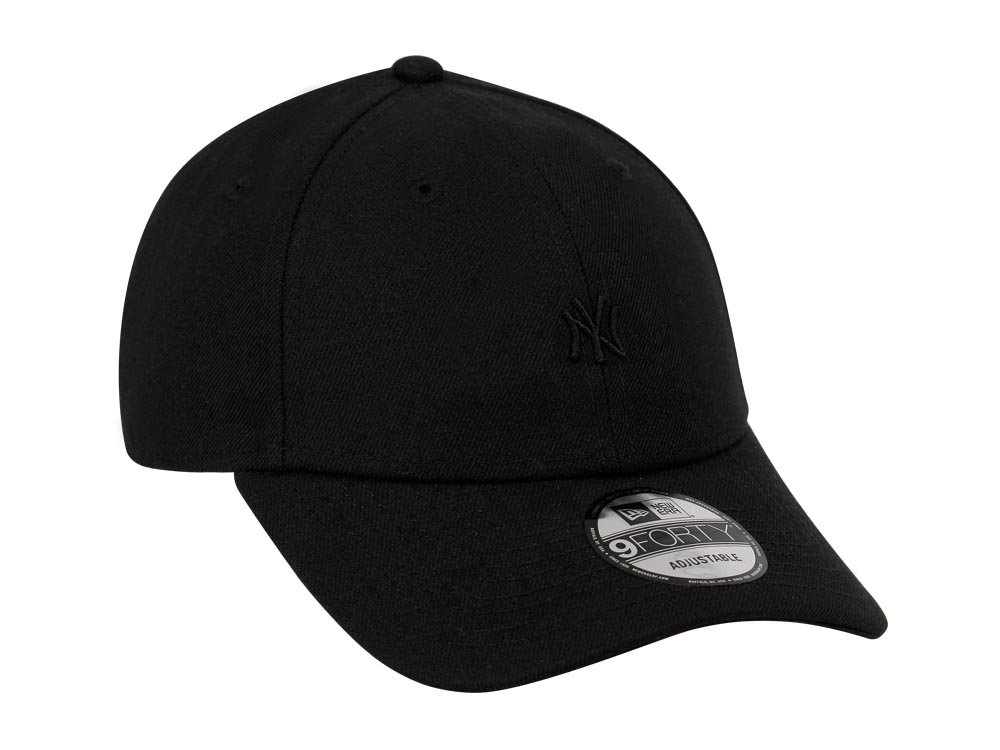 c4a3ad71225 ... norway new york yankees mlb mini logo black on black 9forty cap 579bf  dbf11
