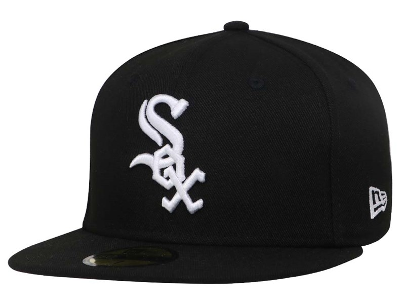 Chicago White Sox MLB AC Black 59FIFTY Cap