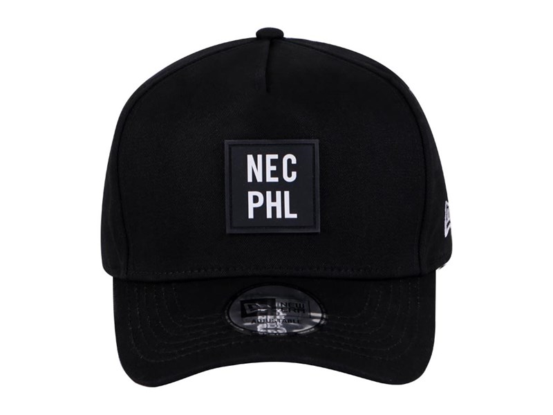 New Era NEC PHL Black 9FORTY D-Frame Cap