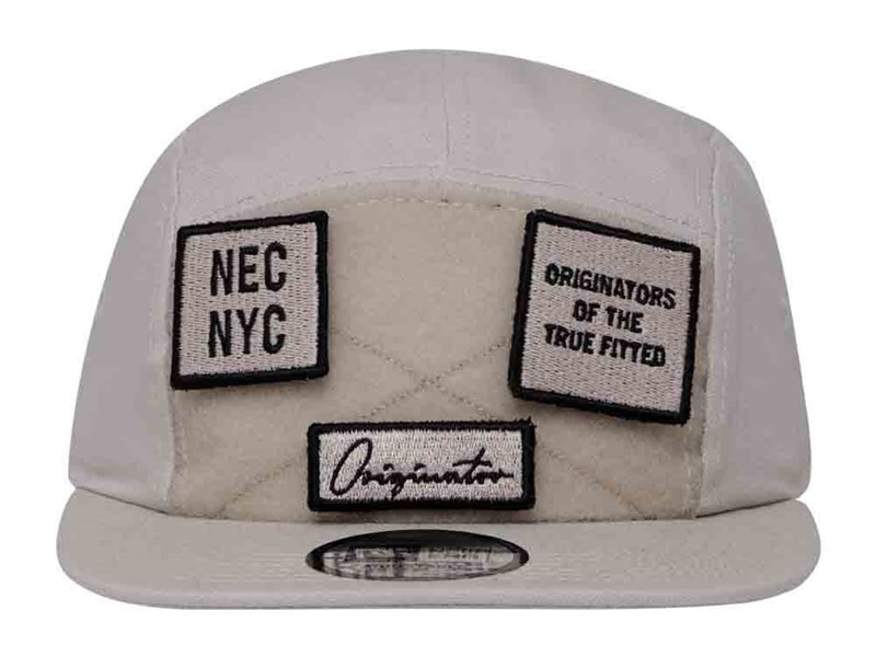 New Era Originators Patches Stone Camper Cap