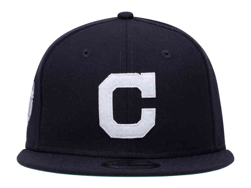 Cleveland Indians MLB 2018 1901 Cooperstown 1901 Inauguration Navy 9FIFTY Cap