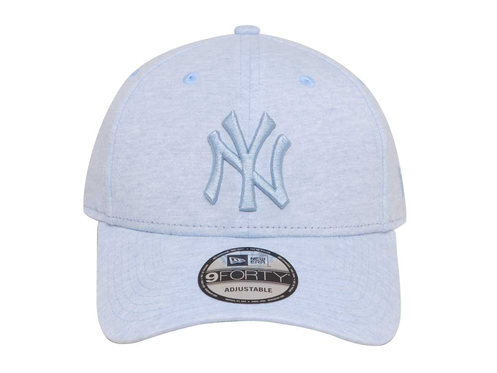6f0047ff6d4 New York Yankees MLB Jersey Brights Sky Blue 9FORTY Cap