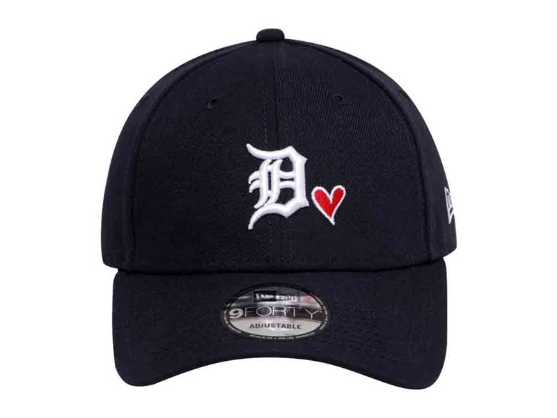 Detroit Tigers MLB Heart Navy 9FORTY Cap
