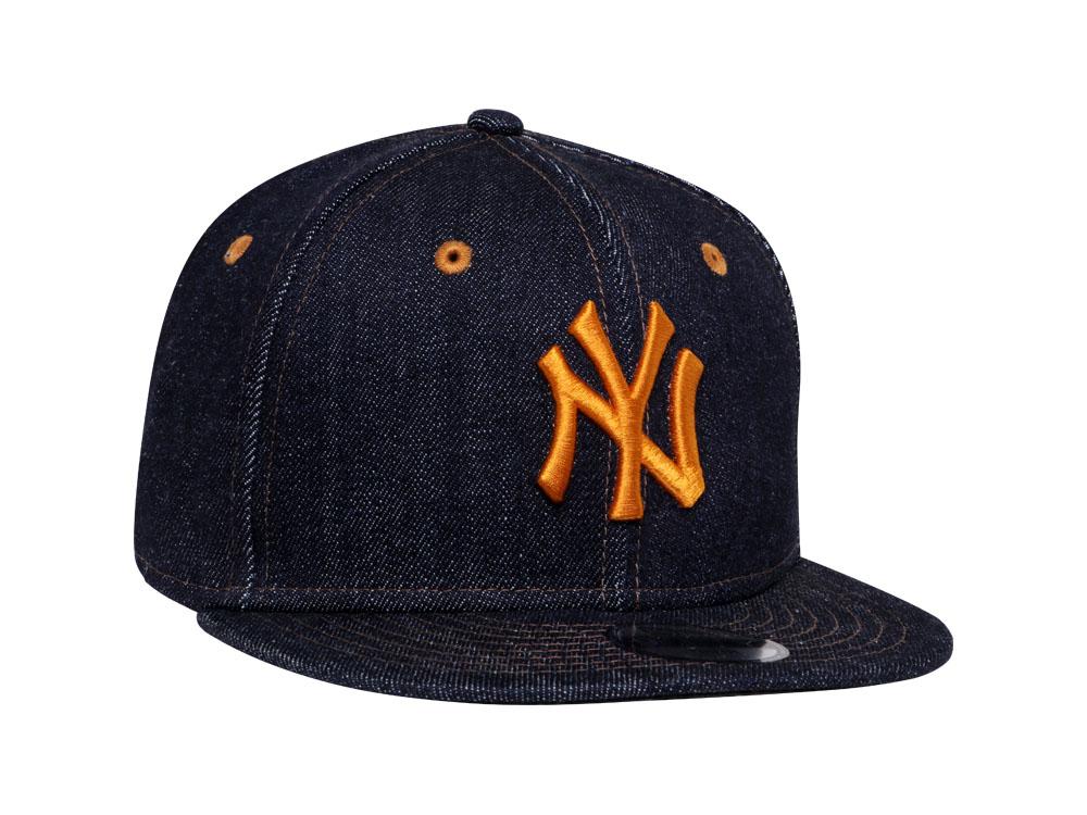 152ef0d26d6 ... spain new york yankees mlb japan indigo denim 9fifty youth kids cap  7ae03 66927