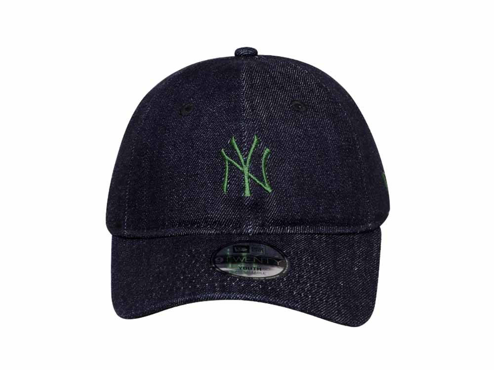 on sale bda0f 4b280 ... wholesale new york yankees mlb japan indigo denim 9twenty youth kids cap  8f8c1 97532