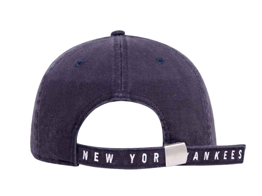 New York Yankees MLB Stone Wash Navy 9FORTY A-Frame Cap | New Era Cap PH