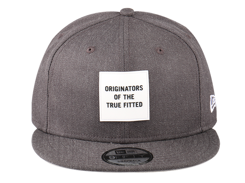 New Era Originators Rubber Logo 9FIFTY Cap