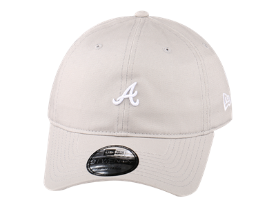 Atlanta Braves MLB Mini Logo Pastel Collection Gray 9TWENTY Cap