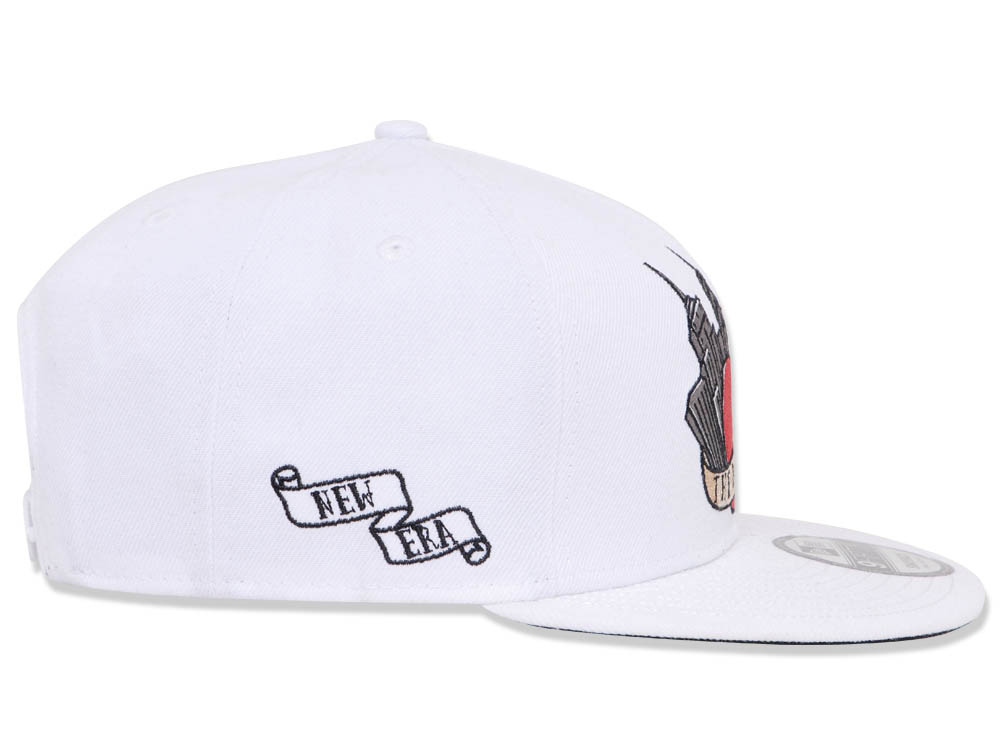 ece064ae69d New Era NYC The Big Apple Old School Tattoos White 9FIFTY Cap