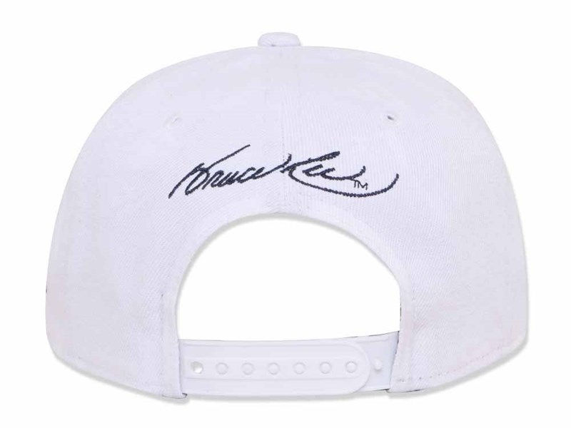 Be Water My Friend Bruce Lee White 9FIFTY Cap