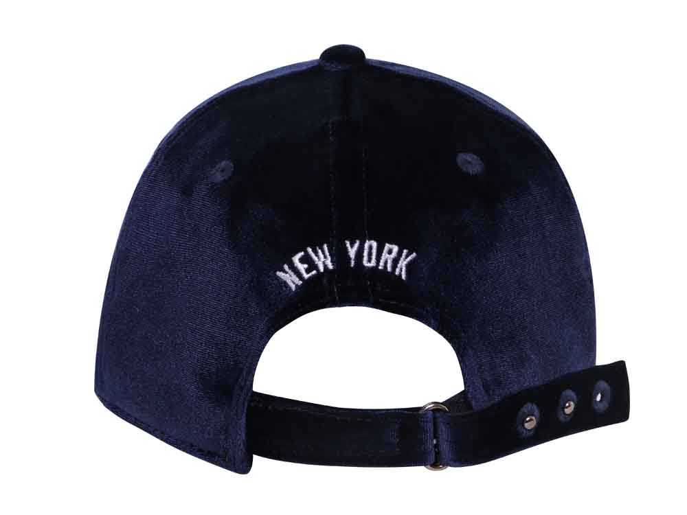 48a48cb20328d ... hot new york yankees cooperstown mlb luxurious velour navy 9forty cap  efa8c 6e68e