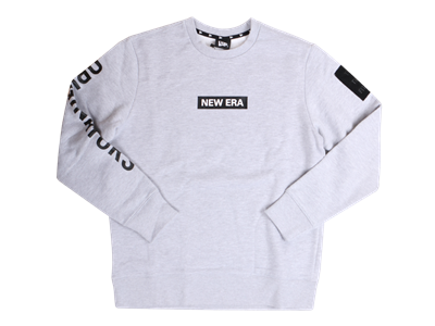 New Era Originators Logo Sweatshirt Heather